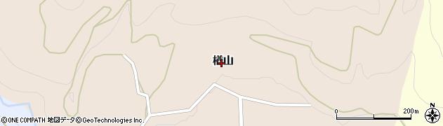 山形県西村山郡大江町楢山350周辺の地図