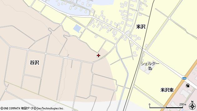 山形県寒河江市谷沢1755周辺の地図