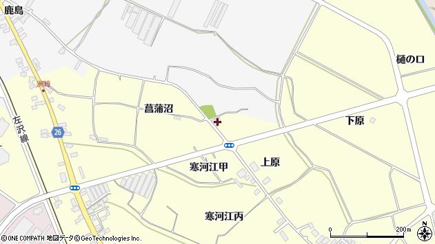 山形県寒河江市寒河江48周辺の地図