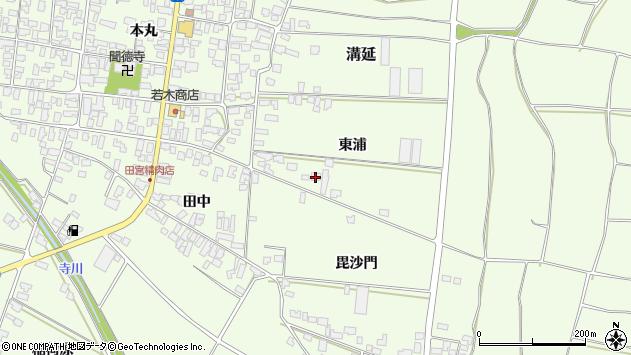山形県西村山郡河北町溝延東浦97周辺の地図