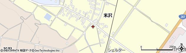 山形県寒河江市米沢99周辺の地図