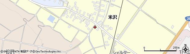 山形県寒河江市米沢40周辺の地図