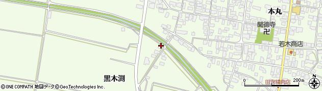 山形県西村山郡河北町溝延黒木渕254周辺の地図