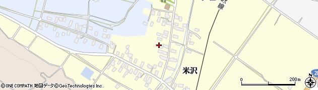 山形県寒河江市米沢51周辺の地図