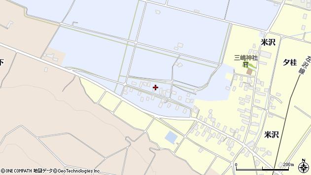山形県寒河江市清助新田361周辺の地図