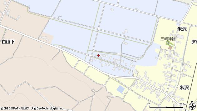 山形県寒河江市清助新田358周辺の地図