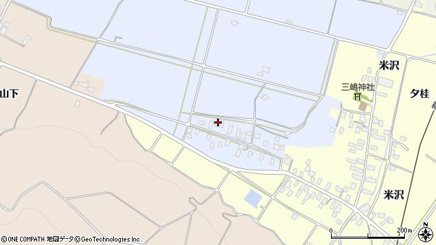 山形県寒河江市清助新田359周辺の地図