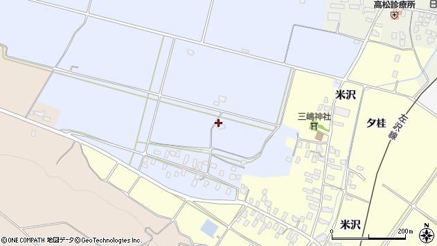 山形県寒河江市清助新田363周辺の地図