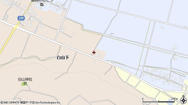 山形県寒河江市谷沢676周辺の地図