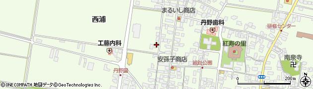 山形県西村山郡河北町溝延西浦35周辺の地図