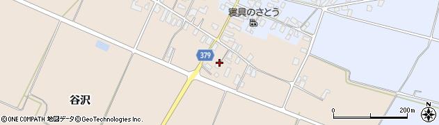 山形県寒河江市谷沢577周辺の地図