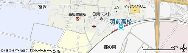 山形県寒河江市高松137周辺の地図
