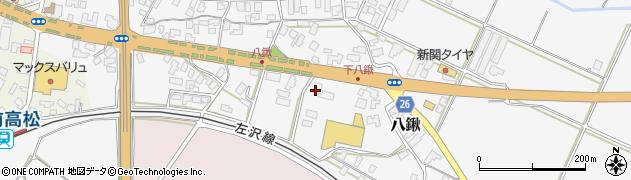 山形県寒河江市八鍬南1290周辺の地図