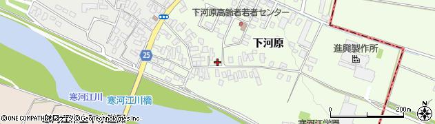 山形県寒河江市下河原206周辺の地図