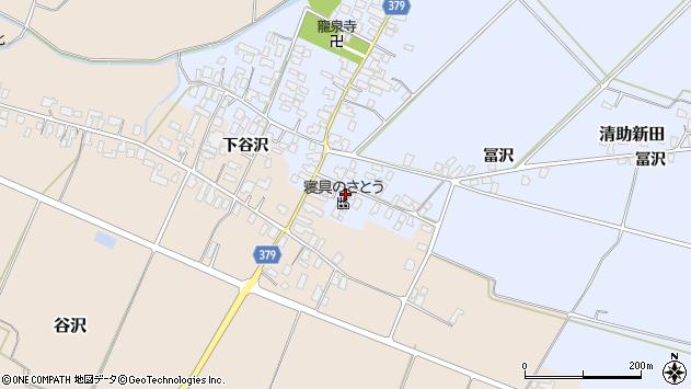 山形県寒河江市清助新田88周辺の地図