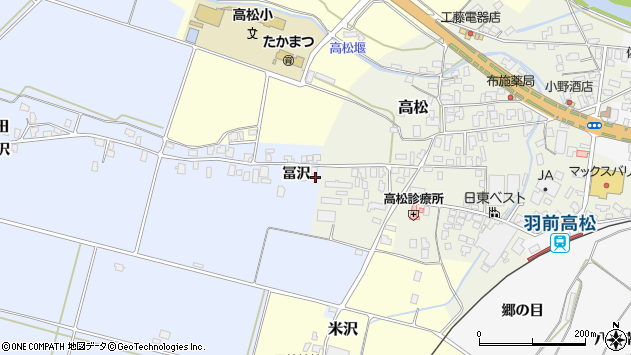 山形県寒河江市清助新田387周辺の地図