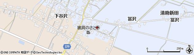 山形県寒河江市清助新田90周辺の地図
