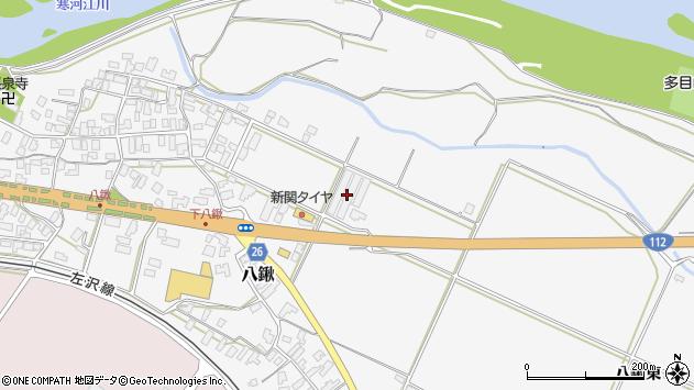 山形県寒河江市八鍬1434周辺の地図