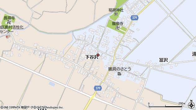 山形県寒河江市清助新田21周辺の地図