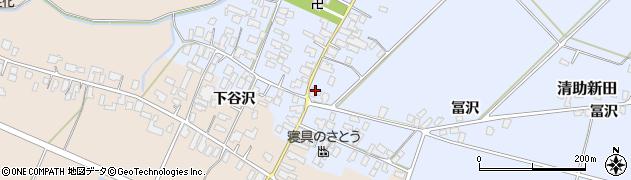山形県寒河江市清助新田47周辺の地図