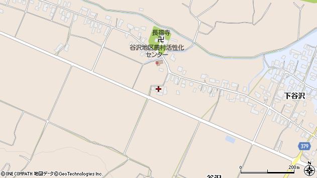 山形県寒河江市谷沢895周辺の地図