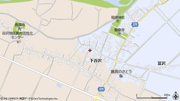 山形県寒河江市清助新田9周辺の地図