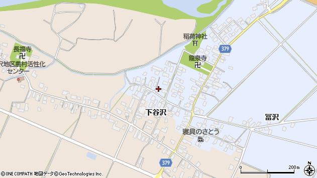 山形県寒河江市清助新田17周辺の地図