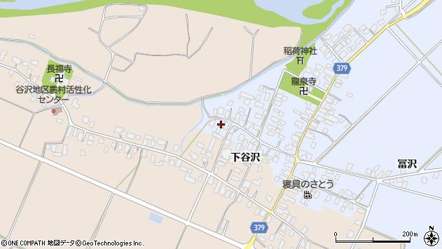 山形県寒河江市清助新田8周辺の地図