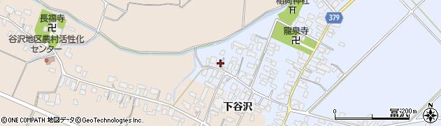 山形県寒河江市清助新田6周辺の地図