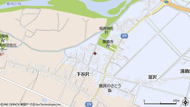 山形県寒河江市清助新田24周辺の地図