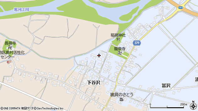 山形県寒河江市清助新田14周辺の地図