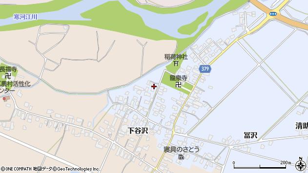 山形県寒河江市清助新田13周辺の地図