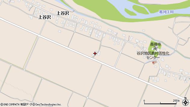 山形県寒河江市谷沢1192周辺の地図