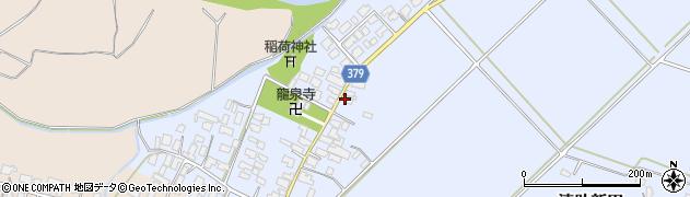 山形県寒河江市清助新田80周辺の地図