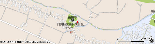山形県寒河江市谷沢1343周辺の地図