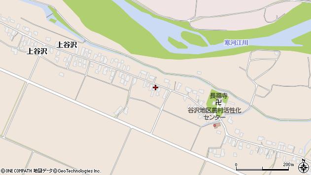 山形県寒河江市谷沢288周辺の地図