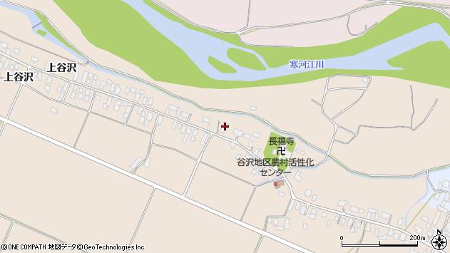 山形県寒河江市谷沢407周辺の地図
