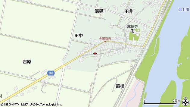 山形県西村山郡河北町田井田中115周辺の地図