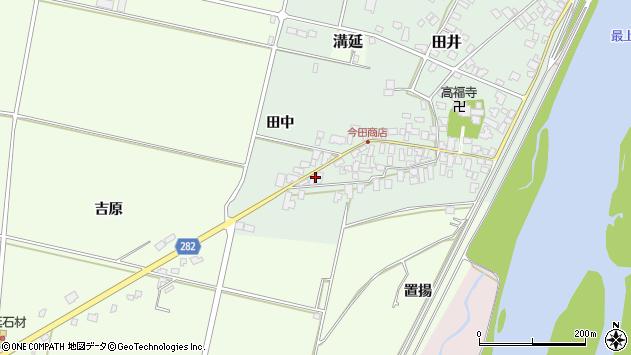 山形県西村山郡河北町田井126周辺の地図