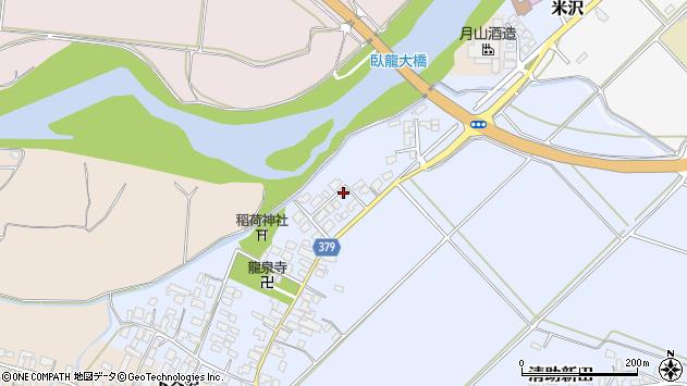 山形県寒河江市清助新田66周辺の地図