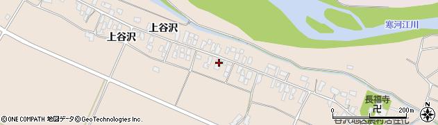 山形県寒河江市谷沢279周辺の地図