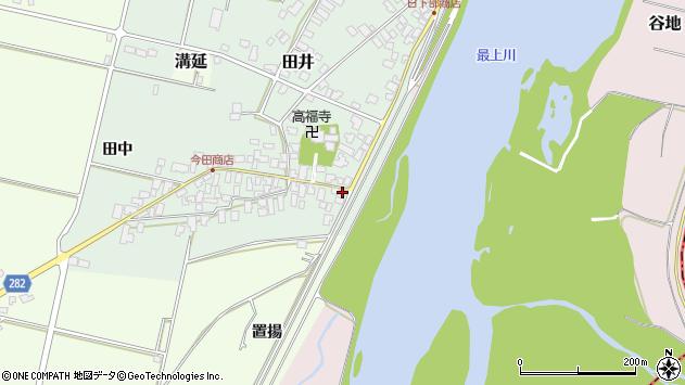 山形県西村山郡河北町田井49周辺の地図