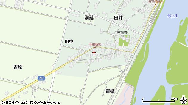 山形県西村山郡河北町田井20周辺の地図