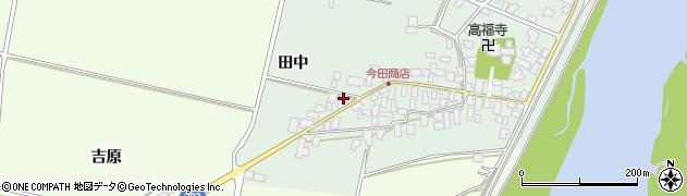 山形県西村山郡河北町田井田中131周辺の地図