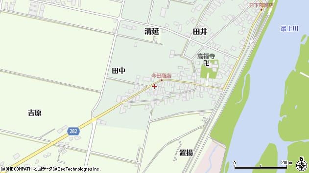 山形県西村山郡河北町田井118周辺の地図