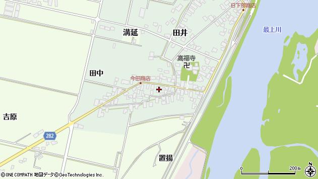 山形県西村山郡河北町田井15周辺の地図