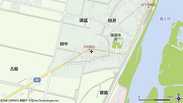 山形県西村山郡河北町田井19周辺の地図