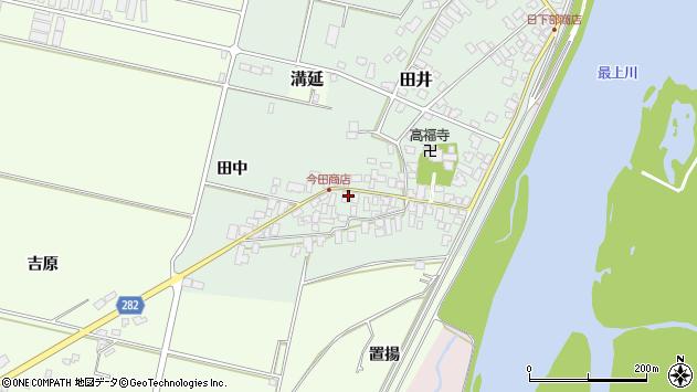 山形県西村山郡河北町田井17周辺の地図
