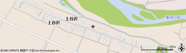 山形県寒河江市谷沢274周辺の地図
