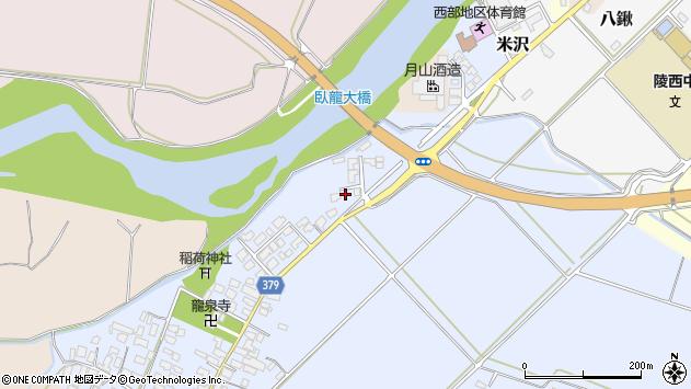 山形県寒河江市清助新田73周辺の地図